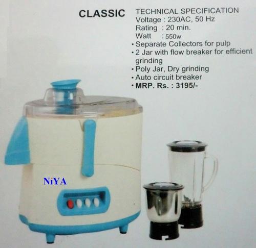 Classic Juicer Mixer Grinder in  Jagat Farm (Gamma)