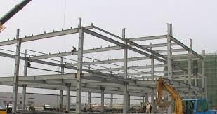 Multi-Floor Steel Building in  New Area