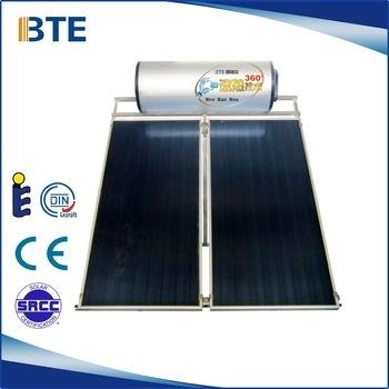 High Efficiency Flat Plate Solar Water Heater Certifications: Ce Srcc Soalr Keymark