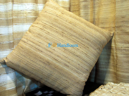 Square Size Tussar Cushion Covers
