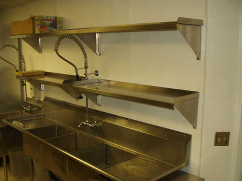 Used Restaurant Wall Shelves