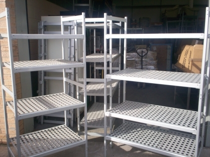 Used Stainless Steel Restaurant Racks