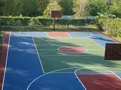 Indoor and Outdoor Sports Flooring