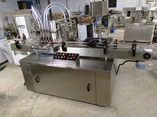 Automatic Two Head Liquid Filling Machines