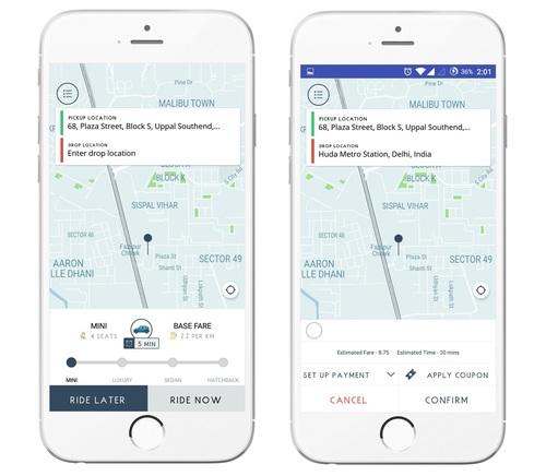 Apporio Taxi Mobile App (Uber Clone) - Apporio Infolabs Pvt  Ltd