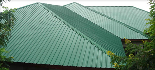 Mist Green Roofing Sheets in   New Bowenpally