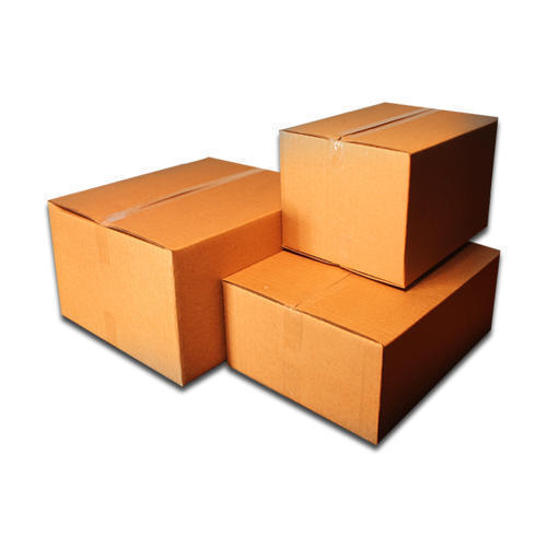 Packed Corrugated Box