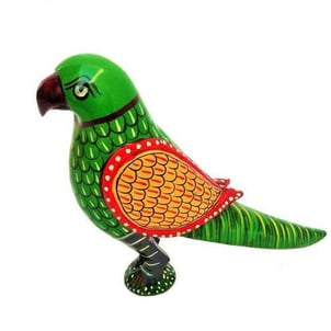 Wooden Painted Parot