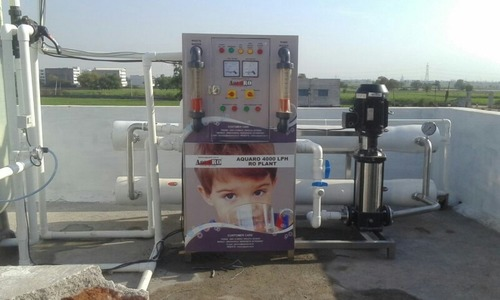4000 Lph Water Plant
