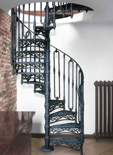 Durable Cast Iron Staircase