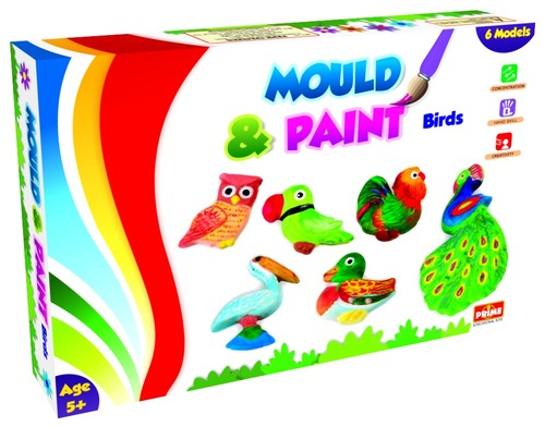 Mould And Paint Birds Diy Creative Painting Certifications: Ce