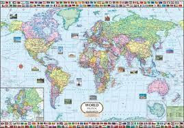 World Map In Delhi Delhi India Kanika Map Company