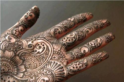 Hand Mehandi