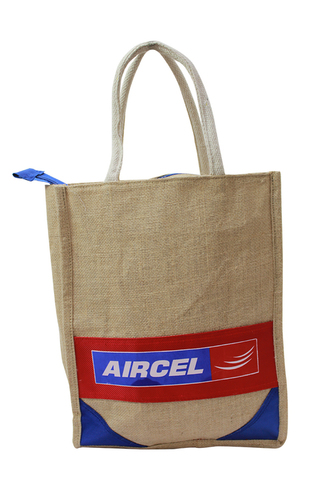 Jute Complementary Bag (Aircel)