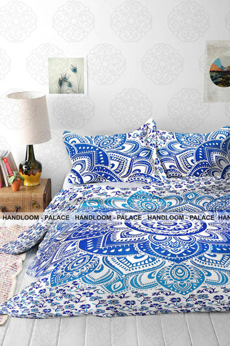 Cotton Duvet Covers in  Tonk Road