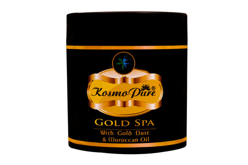 Kosmopure Hair Gold Spa Conditioner And Mask
