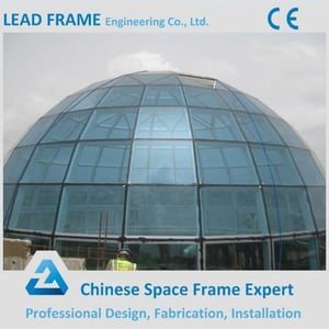 Professional Design Cheap Glass Dome Roof