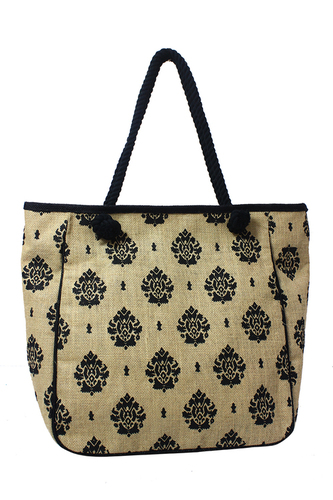 Designer Jute Ladies Bag