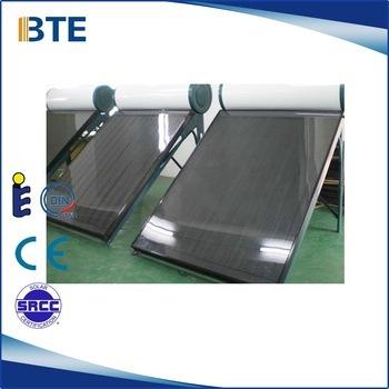 Flat Plate Solar Water Heater Certifications: Ce Srcc Soalr Keymark