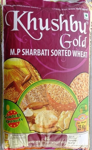 MP Sharbati Sorted Wheat