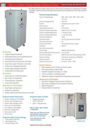 Servo Voltage Stabilizers in  Nacharam