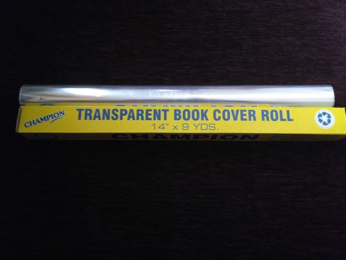 Transperent Book Cover Roll