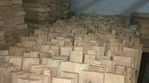 Treated Rubber Wood