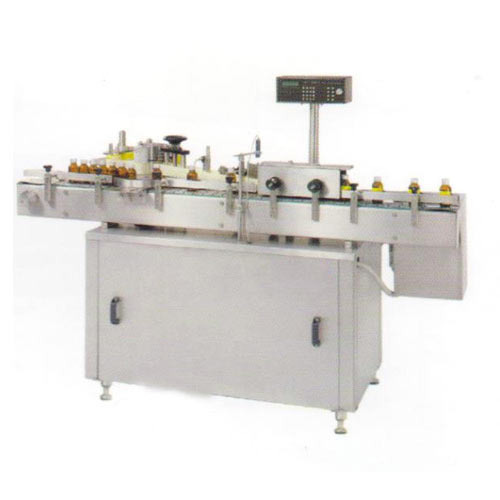 Automatic Vertical Self Adhesive Labeling Machinery