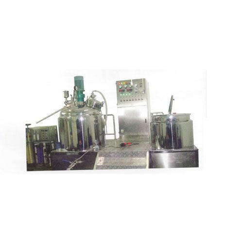 Shampoo Mixer Plant