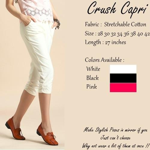 Ladies Crush Capris