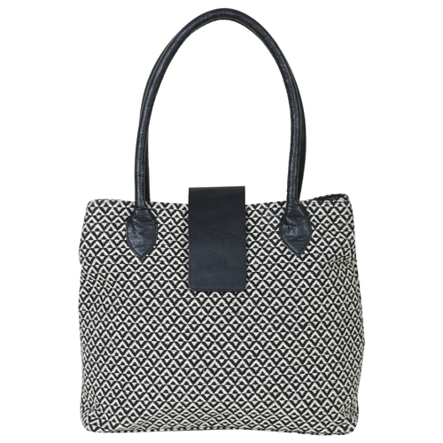 Contrast Tote Bags