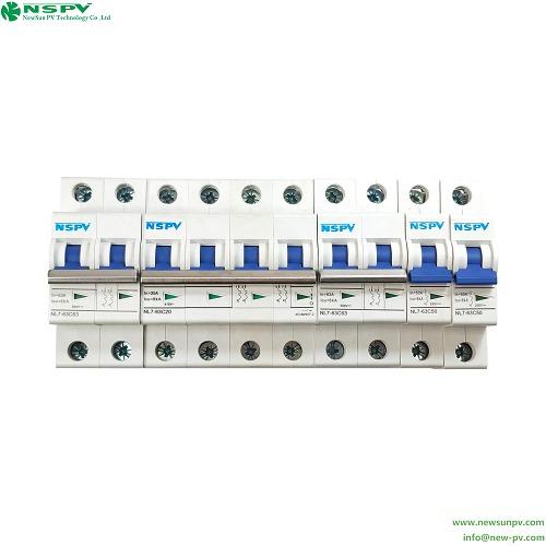Miniature Circuit Breakers (DC/AC)