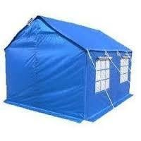 Blue HDPE Laminated Tent