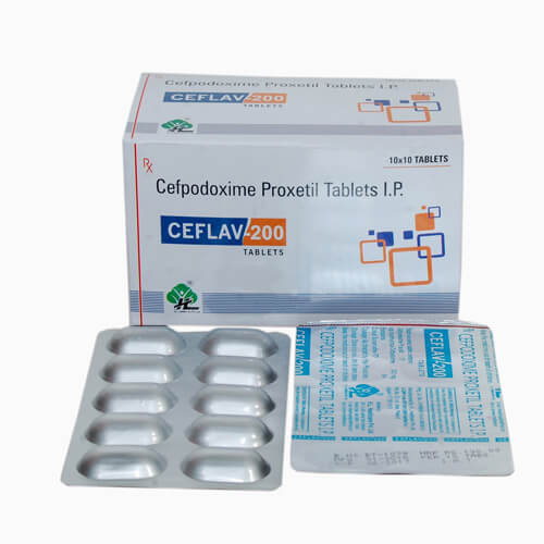 Cefpodoxime Proxetil Tablet