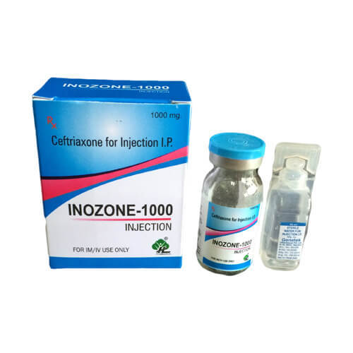 Ceftriaxone 1000mg
