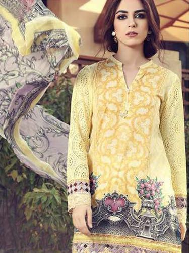 Maria B Lawn 2 Salwar Suits in   Near Dr World Mall