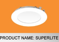 Cosmo Superlite Round Panel Light in  Trichy Road