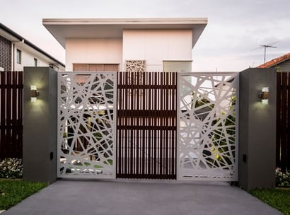 Any Color Artistic Crafted Swing Gates
