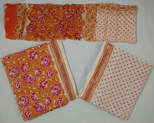 Ladies Unstitched Jaipuri Suit