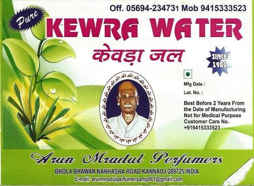 Pure Kewra Water