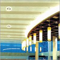 Flange Strip Roof Ceiling Tiles