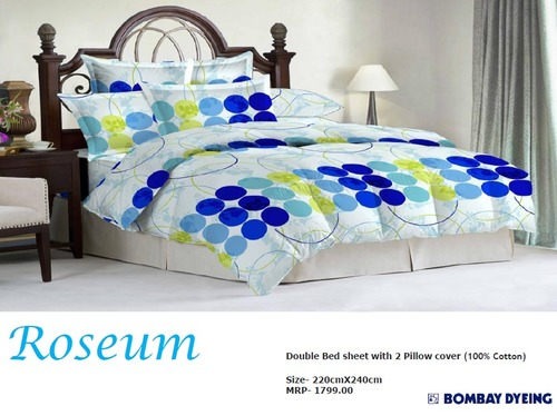 Roseum Double Bed Sheets