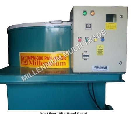 Pan Mixer With Panel Board