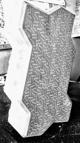 Zebra Interlocking Pavers (Grey) 80mm