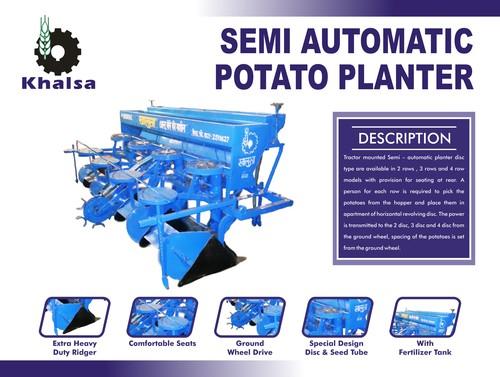 Disc Type Potato Planter