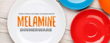 Melamine Dinner Plates in  Modern Indl. Estate