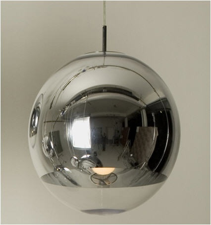 Steel Round Shape Hanging Ball Lamps