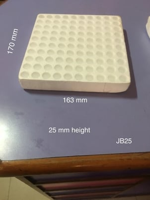 Vials Packing Thermocol Tray