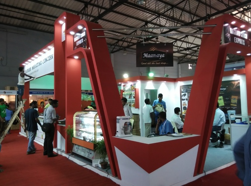 Food Tech India Exhibition Stall Fabrication Service