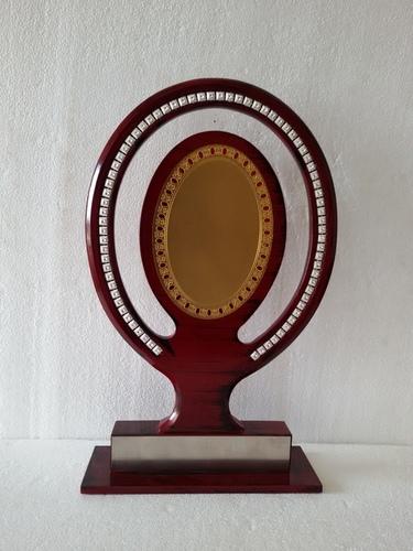 Wooden Aluminium Trophy